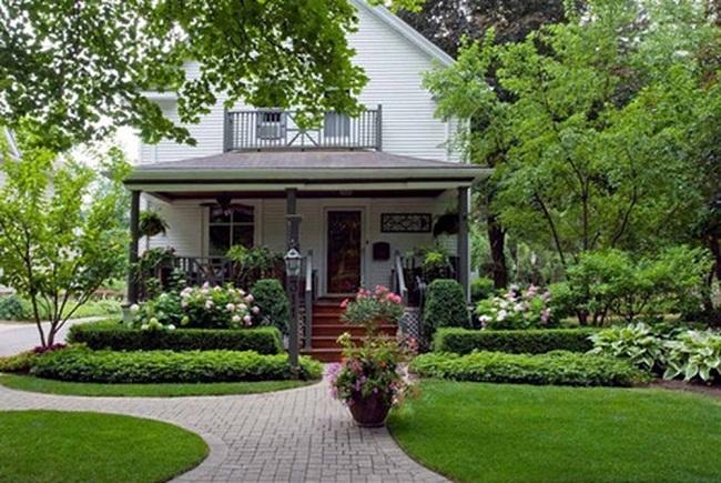 Mách nhỏ bạn 8 cách trang trí sân vườn vừa đẹp vừa hợp xu thế