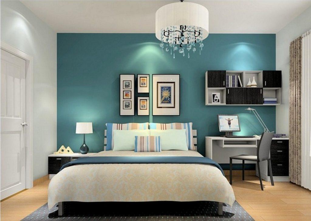 chọn màu sơn phòng ngủ cho người mệnh mộc