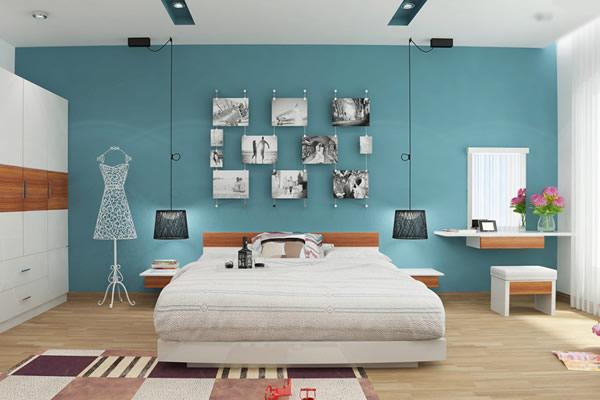 Chọn màu sơn phòng ngủ cho người mệnh thủy