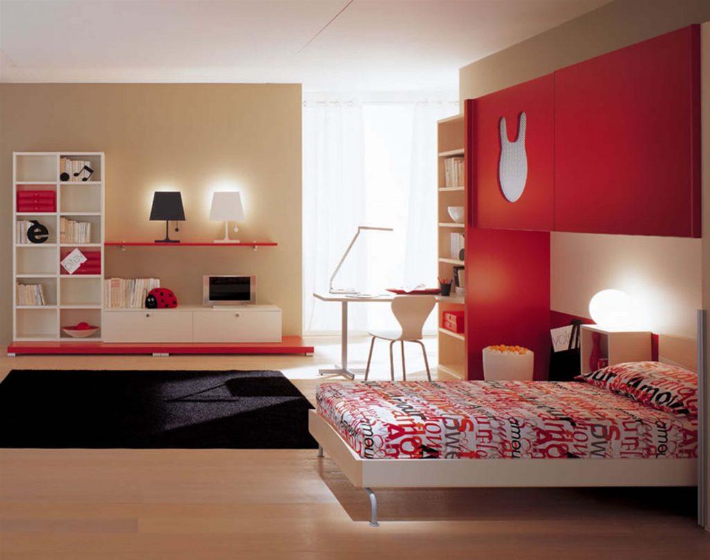Chọn màu sơn phòng ngủ mệnh Hỏa