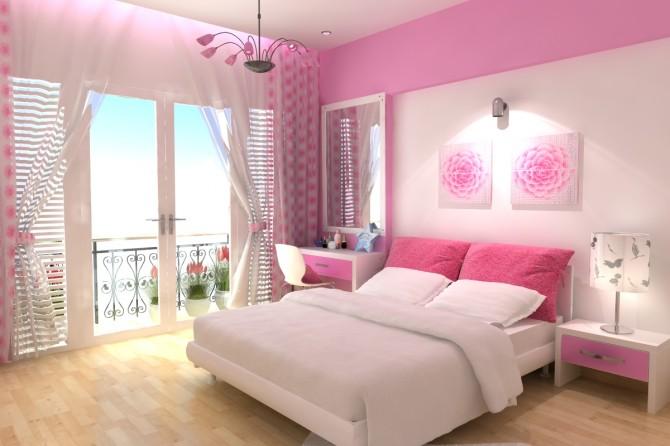 Màu sơn phòng ngủ mệnh hỏa hợp lý nhất trong năm 2018