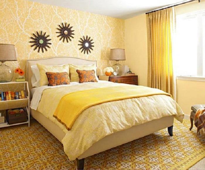 Chọn Màu sơn phòng ngủ mệnh kim