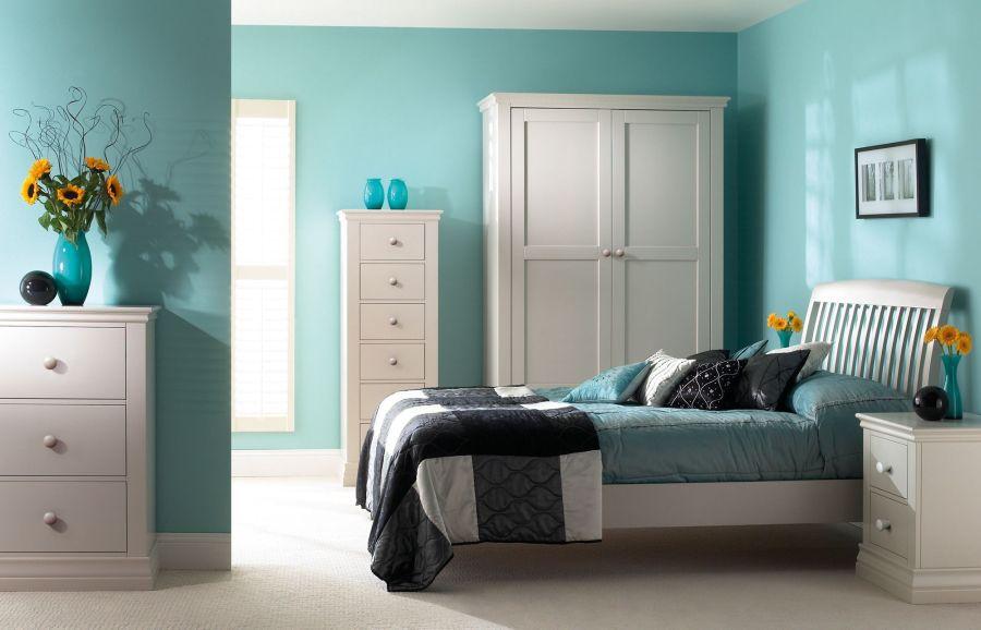 Trong 1 căn nhà rất cần sự đa dạng về màu sắc giữa các căn phòng ngủ để tạo nên sự sinh động