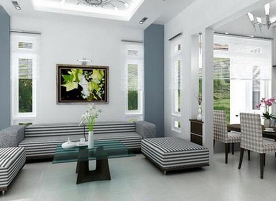 Cách phối màu sơn phòng khách đẹp mắt và hấp dẫn nhất