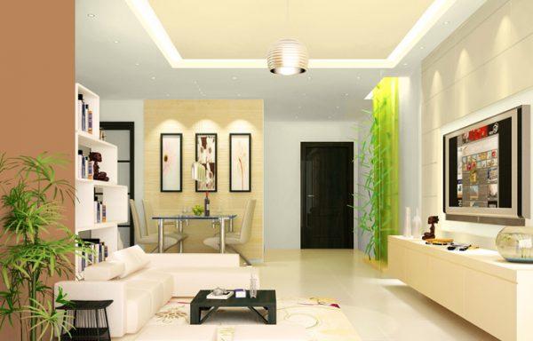 cách phối màu sơn trần nhà đẹp